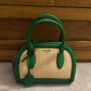 Green kate spade purse